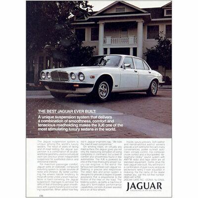 1984 Jaguar: Best Jaguar Ever Built House Vintage Print Ad