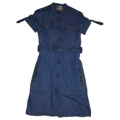 Acne Jeans Kleid (LANVIN love ACNE - Kleid Jeans - Größe 40 - blau - Jeans - weich DENIM)