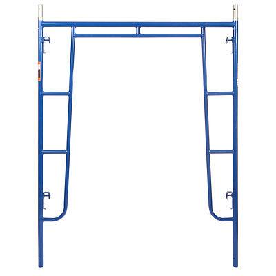 5 X 64 Section Of Blue Heavy Duty Scaffold - Walk Thru Scaffold Package