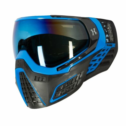 HK Army KLR Thermal Paintball Goggles Mask Cobalt LE - Black/Blue w Cobalt Lens