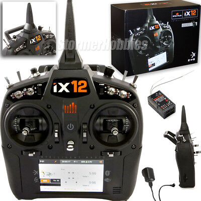 Spektrum Spm12000 Ix12 12 Channel Dsmx Transmitter W  Ar9030t Receiver