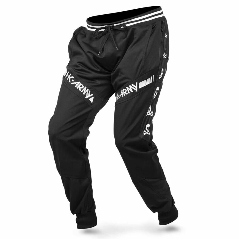 HK Army TRK Jogger Pants - Skulls Black - Medium - Paintball