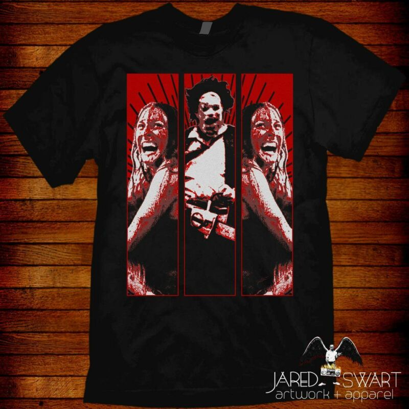 Texas Chainsaw Massacre T-Shirt artist Jared Swart