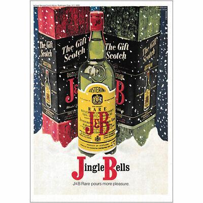 1970 J&B: Jingle Bells Vintage Print Ad