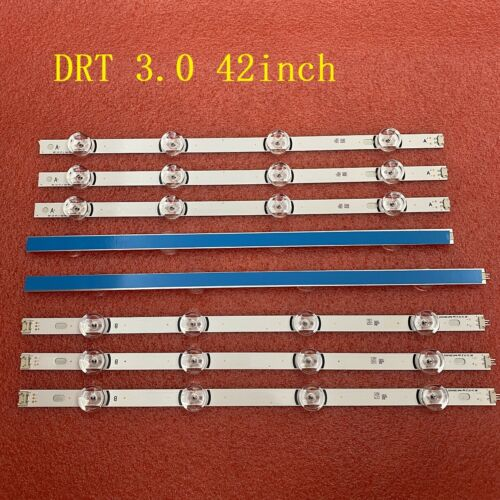 8pcs/set LED Strip For LG 42LB585B 42LB585U 42LB585V 42LF6500 42LB6200 42LB5550