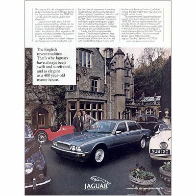 1988 Jaguar: The English Revere Tradition Vintage Print Ad