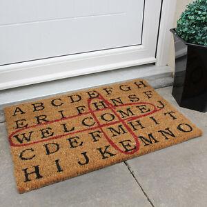Nuova piccola benvenuto porta zerbino ingresso divertente - Zerbino per esterno ...