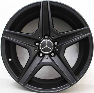 "Mercedes C63 AMG 18"" Wheels (Genuine) Yarraville Maribyrnong Area Preview"