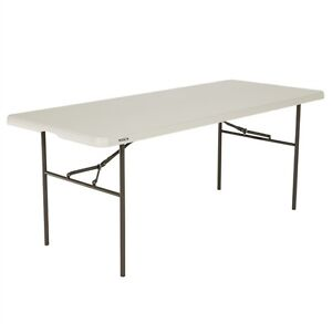 Lifetime 6ft Bi-Fold Blow Mould Trestle Table - SOLD Daceyville Botany Bay Area Preview