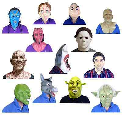 MOVIE STAR Masks Famous People Faces Actors Stars Fancy Dress Costume Masks