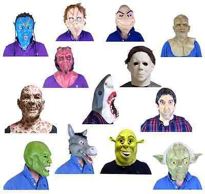 Filmstar Masken Berühmt People Gesichter Actors Stars Kostüm Kostüm Masken