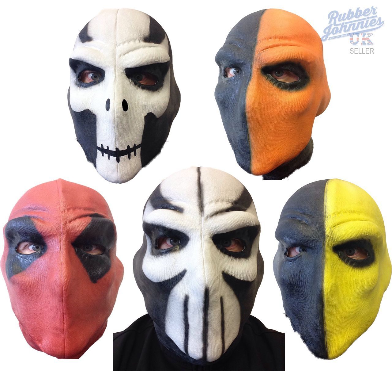 deathstroke maske deadpool film taskmaster crossbones comic con pfeile party ebay. Black Bedroom Furniture Sets. Home Design Ideas