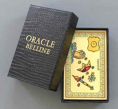 Oracle Belline Fortune Telling Cards Deck Cartomancy Divination France SEALED