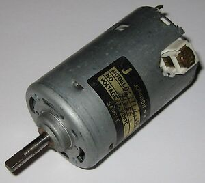 Johnson 220 vdc electric motor 220vdc 12 pole dc hobby for Johnson electric dc motors