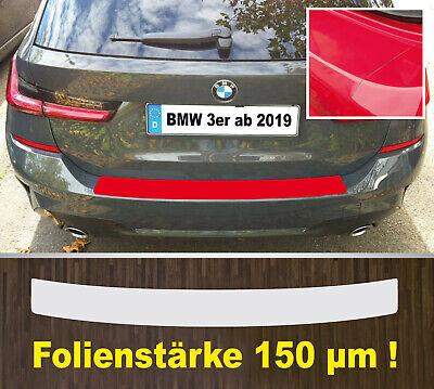 Ladekantenschutz Lackschutzfolie transparent BMW 3er G21 Touring ab 2019  150 µm