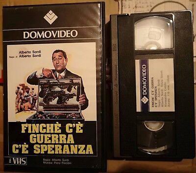 VHS FINCHE' C'E' GUERRA C'E' SPERANZA di Alberto Sordi