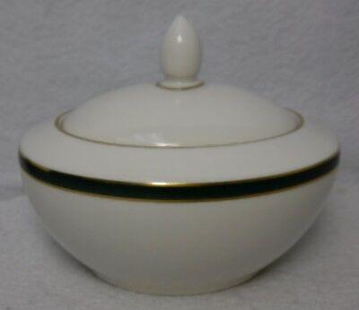 ROYAL DOULTON china OXFORD GREEN TC1191 England Sugar Bowl & Lid ()