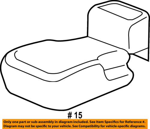 CHRYSLER OEM 17-18 Pacifica Second Row Back Rear Seat-Seat