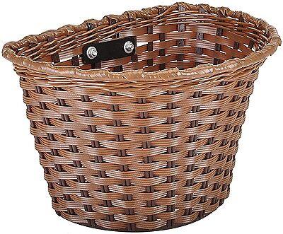 Kent 96028 Bicycle Basket, Brown