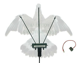 Turbo Pigeon Flapper - A1 Decoy  Flapping Magnet Decoying Shooting with Timer