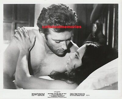 Original Vintage Photo 1967 The Good The Bad And The Ugly Clint Eastwood #