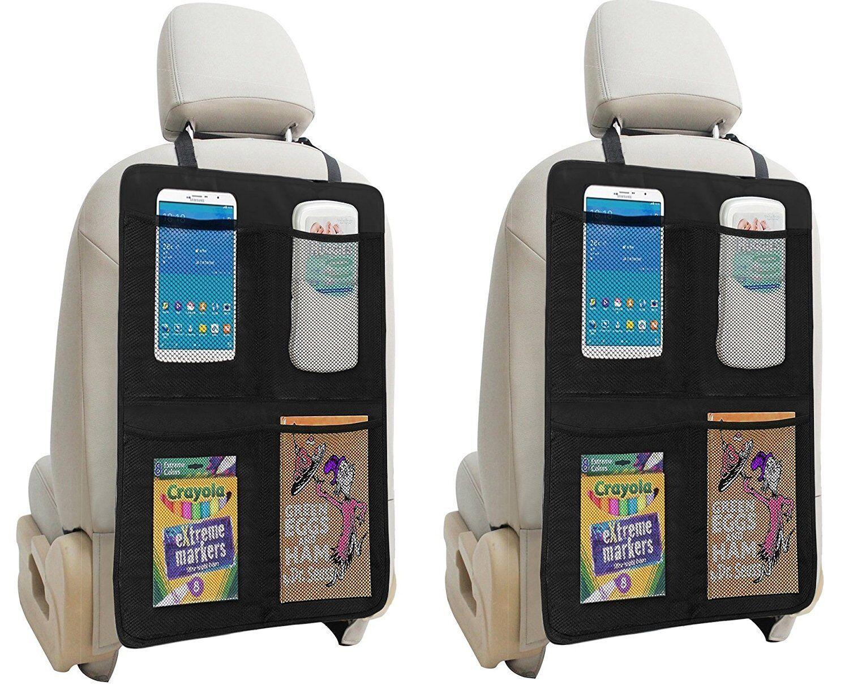 Купить lebogner LOR-A-1011 - Kick Mat Auto Seat Back Protectors + 4 Large Organizer Pockets By Lebogner