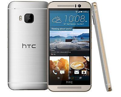 HTC One M9-32GB-GOLD ON SILVER(T-MOBILE-UNLOCKED)MINT CONDITION-W/WARRANTY!