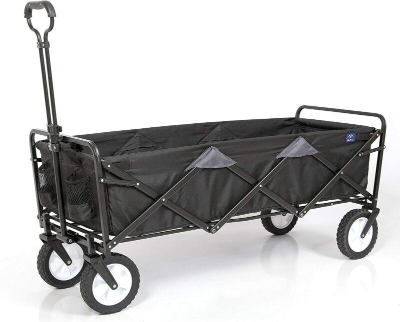 Mac Sports WTCX-100 Mac Sports Extended Wagon Bag & Storage, Long, Black