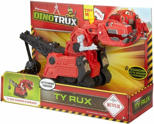 Dinotrux Ty Rux  Dinosaur Motorized Construction Vehicle - Sounds & Phrases Toy