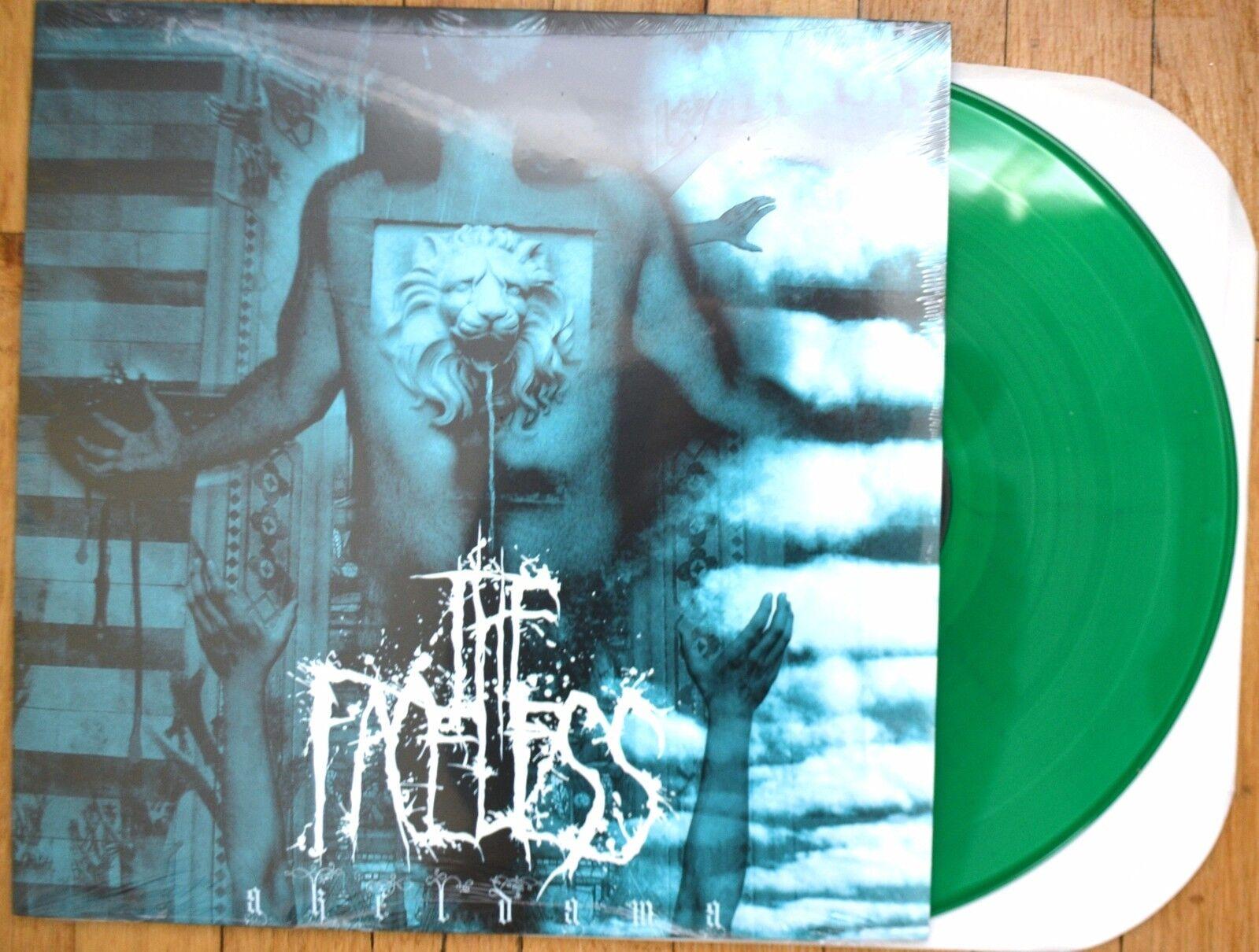 The Faceless Akeldama Vinyl LP Green New, autothiesm