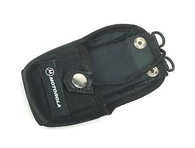 Motorola Hln9701b Nylon Radio Walkie Talkie Carrying Case Holster W Belt Loop