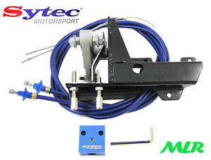 SYTEC TWIN WEBER CARBS THROTTLE CABLE LINKAGE KIT 40 45 DCOE TWIN 40S 45S MLR.HR
