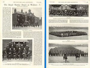 1899-BOER-WAR-ROYAL-MARINE-DEPOT-WALMER-STAFF-SGTS-PARADE-SQUARE-DRILL-GROUND