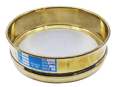 Test Sieve 8 Inch - Full Height - Astm No. 120 125m - Brass - Eisco Labs
