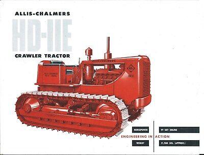 Equipment Brochure - Allis-chalmers - Hd-11e - Crawler Tractor - C1959 E5515