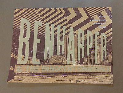 Ben Harper & The Innocent Criminals - 2016 Grand Rapids, MI Poster Autographed