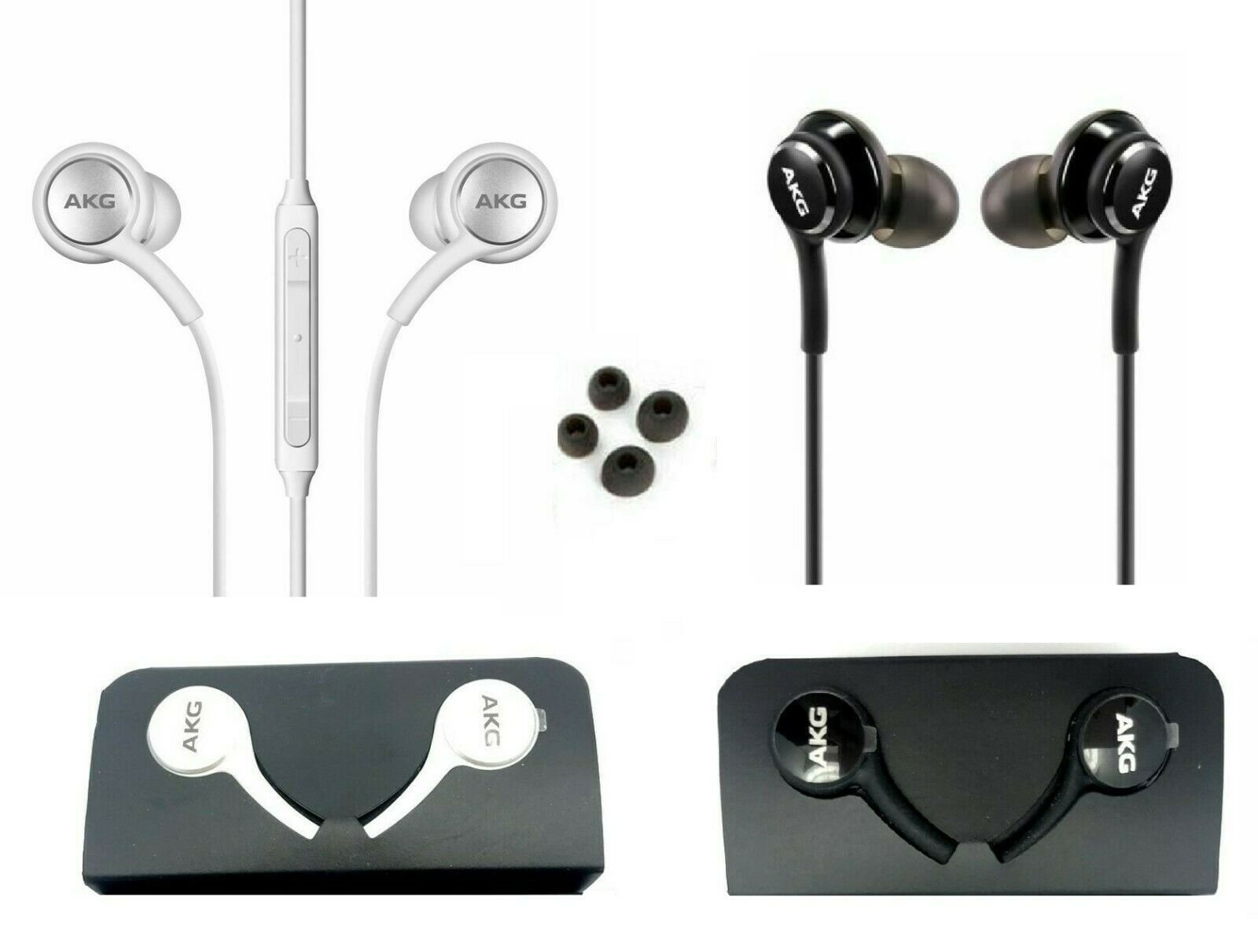 Samsung Galaxy S10 Plus S10e AKG Headphones Earbuds OEM EO-I