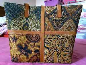Batik Leather Tote Bag Salisbury Brisbane South West Preview