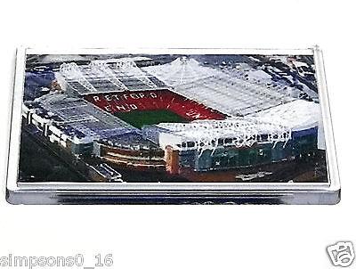 Manchester United Fridge Magnet Stadium Ground  Football Gifts