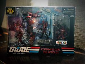 G.I. JOE 25th Anniversary toysrus excl. crimson guard Box Set