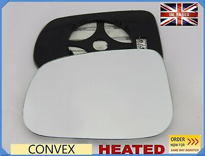 Left Passenger Convex Wing Mirror Glass for Volvo S80 2006-2016 131LS