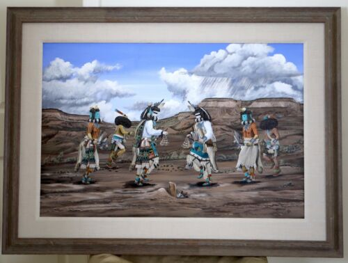 Large Duane Dishta Original Painting