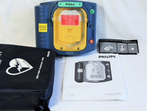 Used Philips HeartStart Onsite AED Trainer M5085A - NO PADS