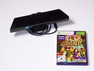 Xbox 360 Kinect Sensor (ohne Netzteil) + Spiel