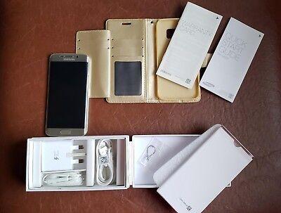 Samsung Galaxy S6 Edge SM-G925F - 32GB Gold (Unlocked) Smartphone comprar usado  Enviando para Brazil