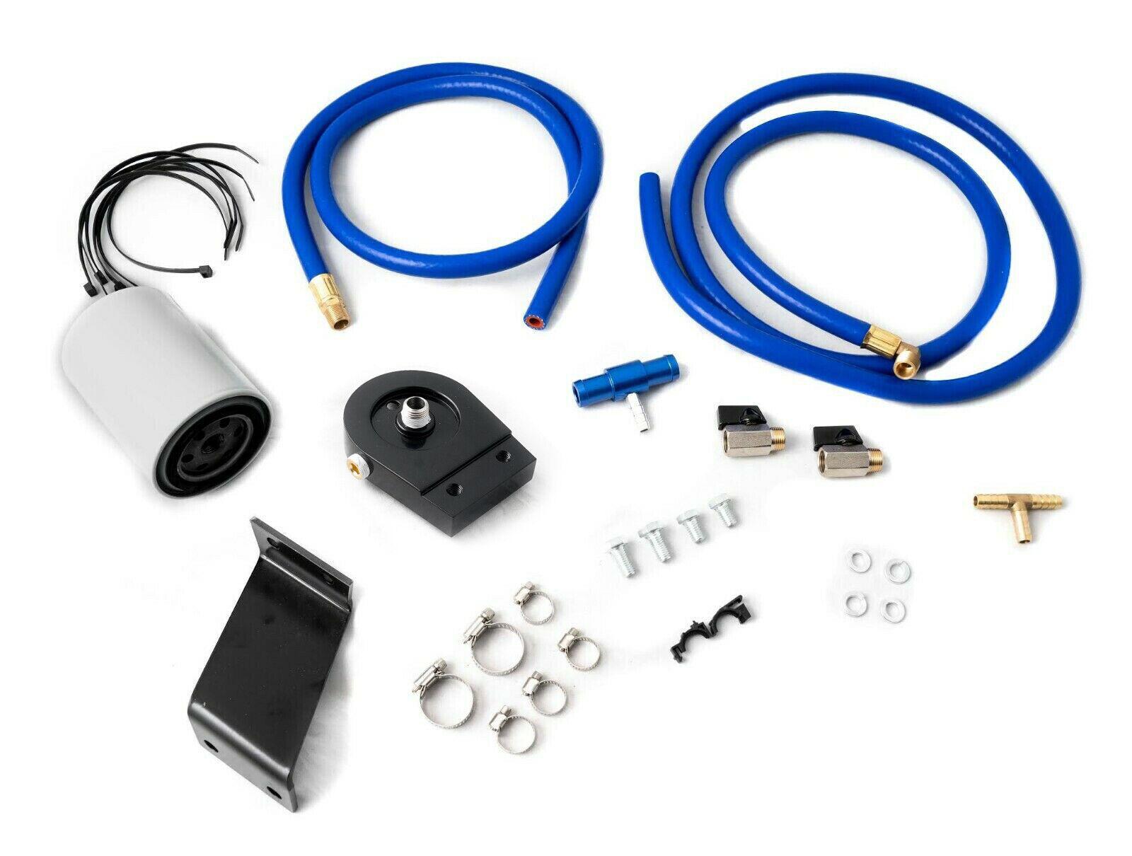 Details about Coolant Filtration Filter Kit 01-10 Chevy GM LB7 LLY LBZ LMM  Duramax Diesel 6 6L