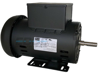 5 Hp 3450 Rpm Air Compressor 60 Hz Electric Motor 230 Volts Century B385