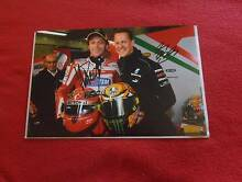 VALENTINO ROSSI and MICHAEL SCHUMACHER SIGNED PHOTO 30cm x 20cm Altona Meadows Hobsons Bay Area Preview