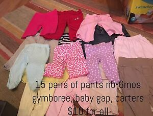 Baby clothes, mostly girl, 0-6 months