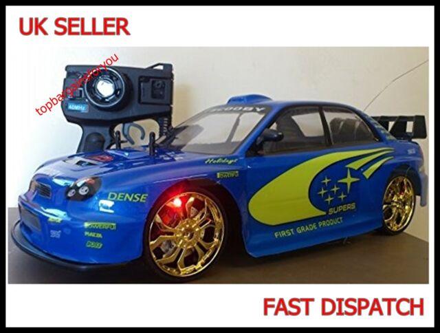 Subaru Impreza Scooby Radio Remote Control Car 1/10 RC Drift Rally Championship